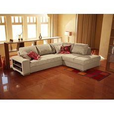 Угловой диван Энджой цвет бежевый  (код 928335)