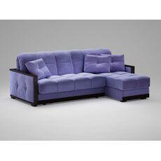Угловой диван MOON 015 цвет синий,фиолетовый