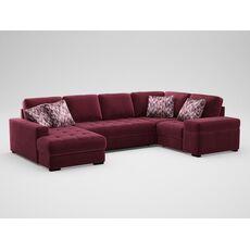 Угловой диван MOON 107 цвет красный