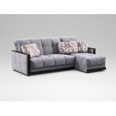 Угловой диван MOON 015 цвет серый